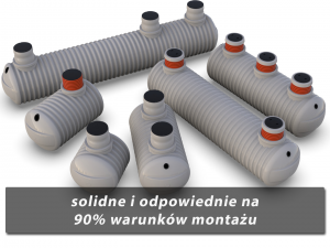 Zbiorniki na szambo podziemne TITANIUM standardowe