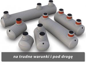 Zbiorniki plastikowy na szambo TITANIUM wzmocnione